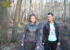 Пышногрудую Настю трахают в парке (2011/HD)