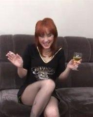 Пьяную русскую шалаву пустили по кругу
