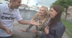 Питерские девки трахаются с иностранцами